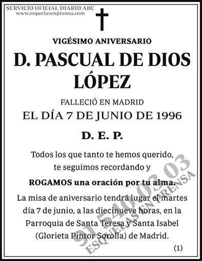 Pascual de Dios López